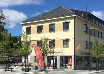 turistinformasjon kongsvinger stasjonssiden fasade mallings parken