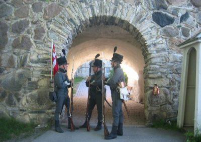 kongsvinger festning uniformerte soldater
